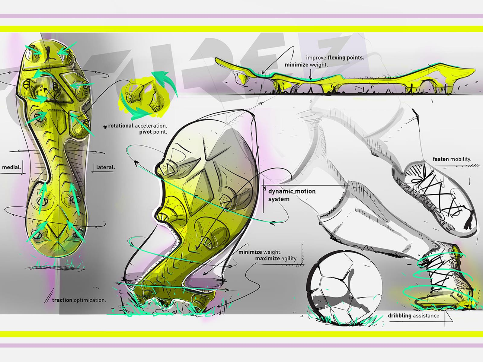 Designs of the latest boot coming from the retail giant
