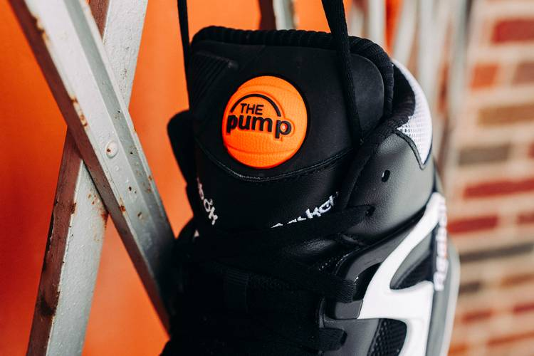 """Reebok to include orange button with """"The Pump"""" featured within on the sneaker's tongue"""