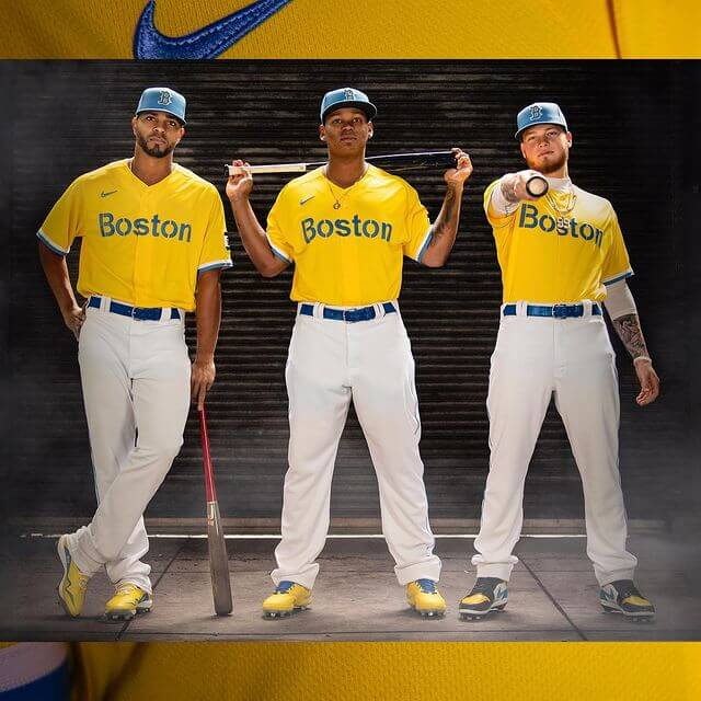 Boston Red Sox get new uniform to debut April 19