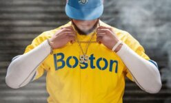 Boston Red Sox Nike New Yellow Jersey KRIMY