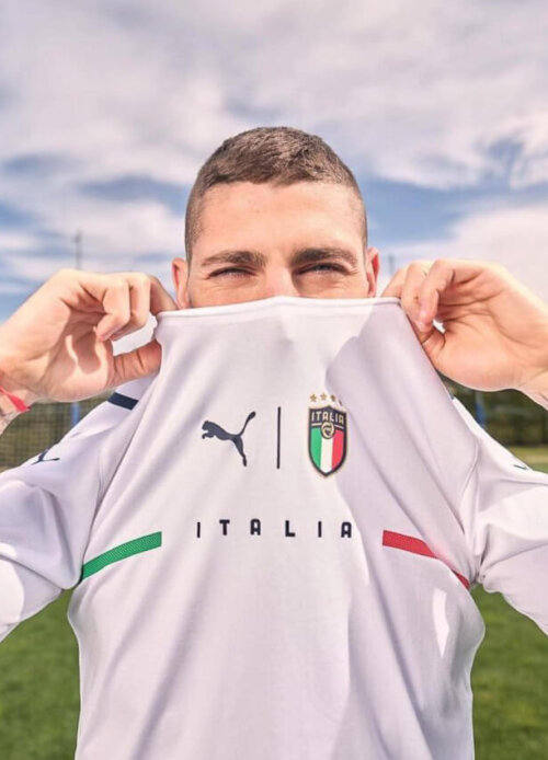 PUMA Unveil The New Italy 21 22 Away Kit 4