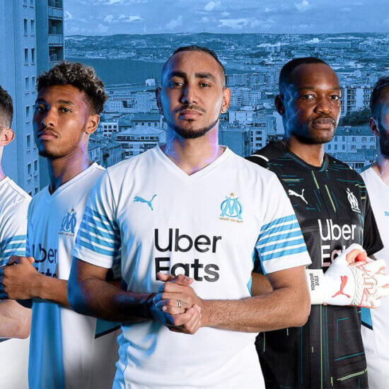 olympique marseille 2021 2022 home kit 2