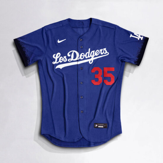 Dodgers Nike City Connect