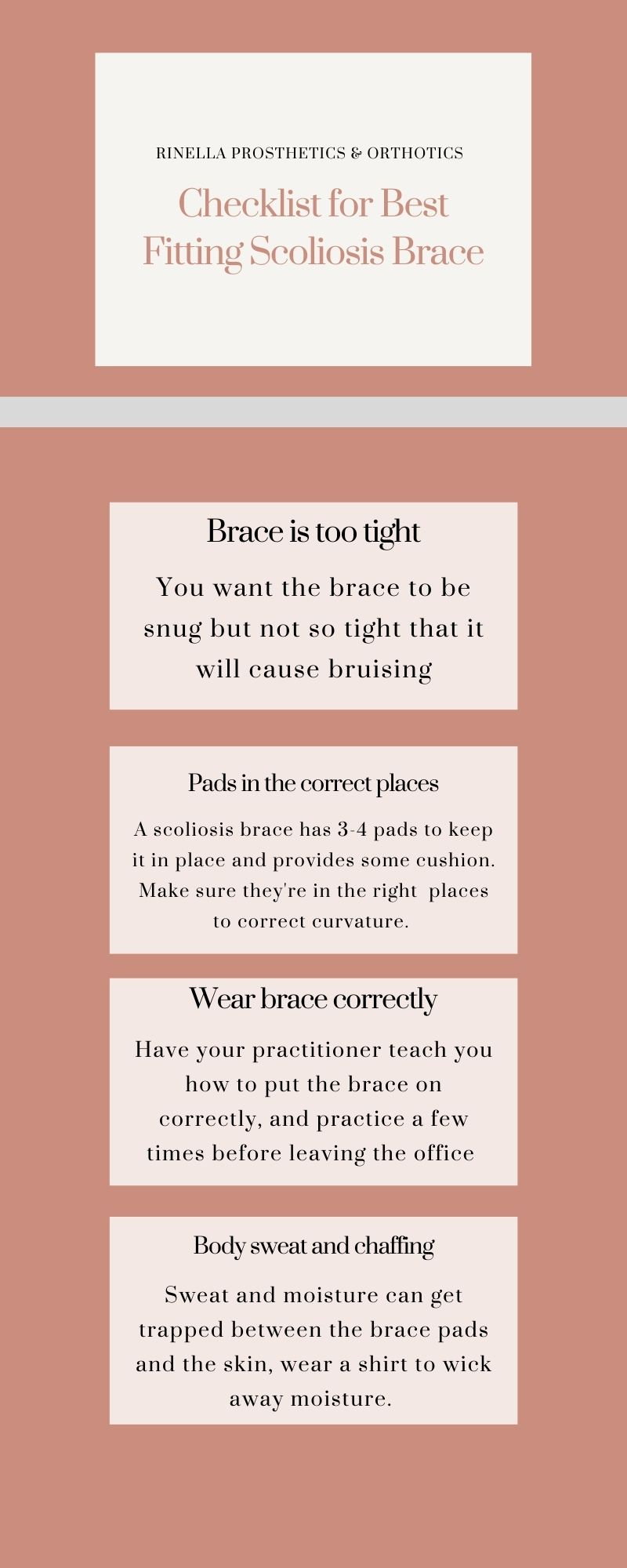 how to wear scoliosis brace