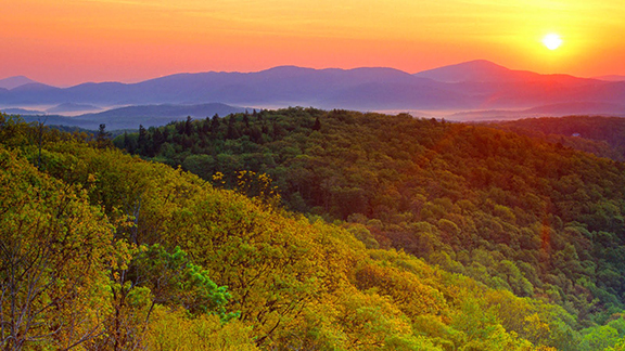 Blue Ridge Mountains Virginia