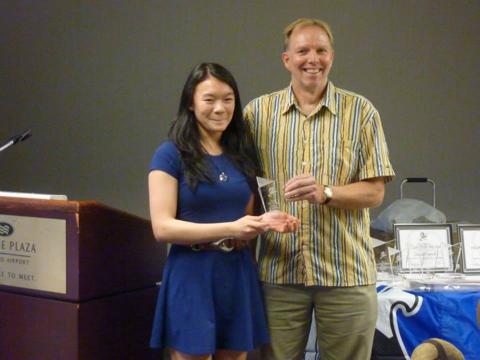 Michelle Cheng U16 Female Player of the year