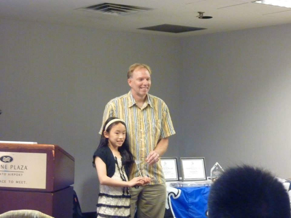 Jessica Cheng -U10 Female player of the year!