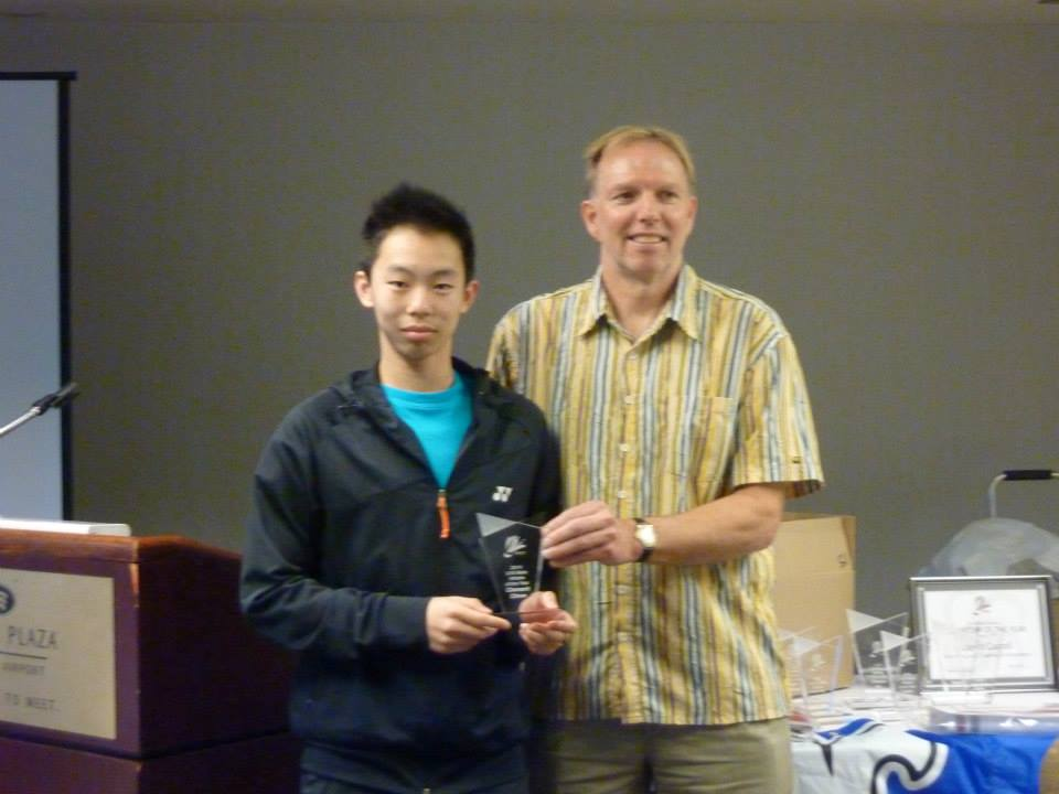 Clement Chow - U16 Male player of the year