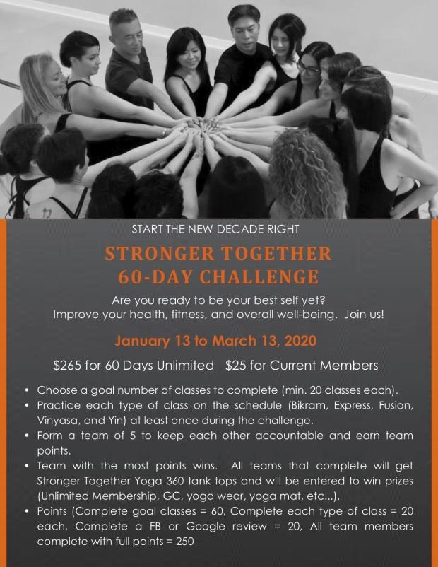 Stronger Together Challenge
