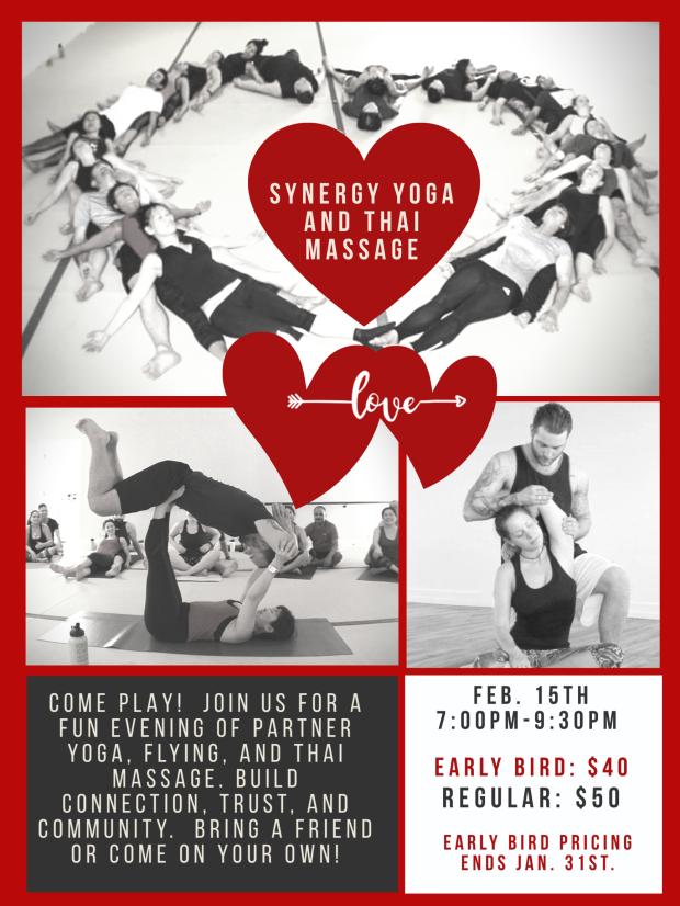 Synergy Yoga and Thai Massage