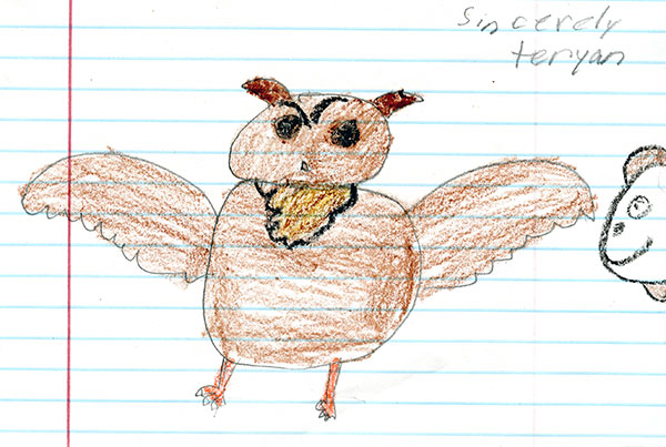 Great Horned Owl by Teryan