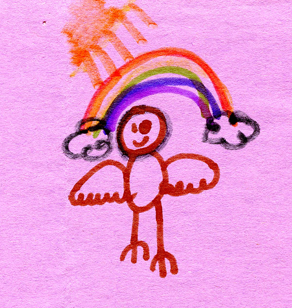 Rainbow Screech Owl