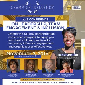 CHAMPION INFLUENCE® CONFERENCE