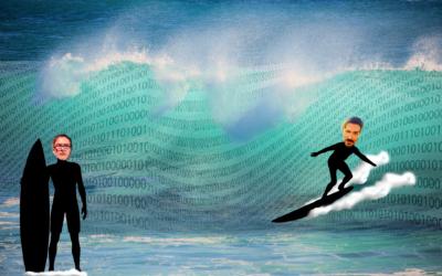 ¿Surfeamos la tecnología o nos revuelca la ola?