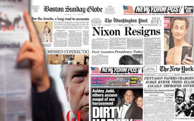 8 casos periodísticos que cambiaron el mundo