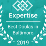 Logo Expertise 2019 Best doulas in Baltimore
