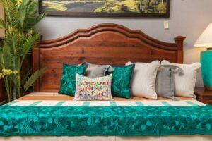 Curved wormwood bedframe