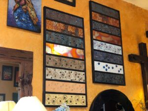 Wall art pieces with details in Cabo San Lucas, Mexico