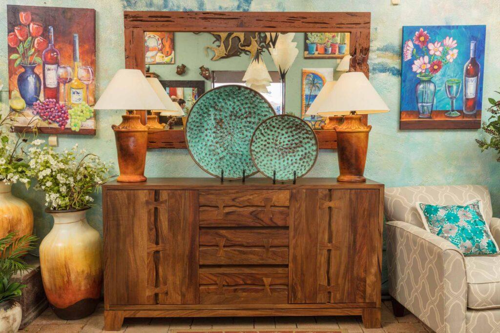 Perota buffet furniture in Cabo San Lucas