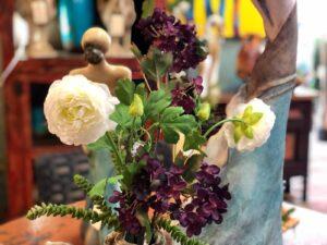 Faux florals for home decoration