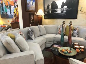 La-Z-Boy Meyer sectional sofa in Cabo San Lucas furniture store