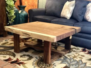 Perota coffee table, sold at furniture store in Cabo San Lucas