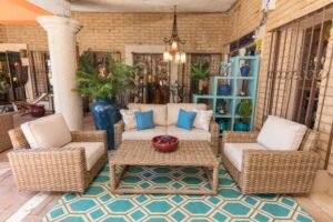 Sunset West Havana outdoor furniture collection in Cabo San Lucas