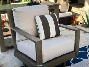 Sunset West Laguna swivel rocking club chair, for sale in Cabo San Lucas