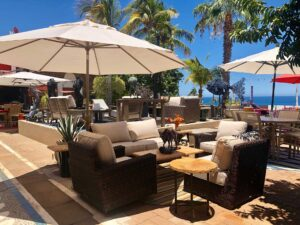 Sunset West Montecito outdoor furniture collection, for sale at furniture store in Cabo San Lucas