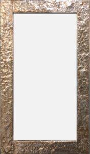 Rectangular aluminum mirror