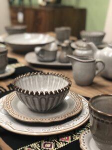 Unique dinnerware set in Cabo San Lucas