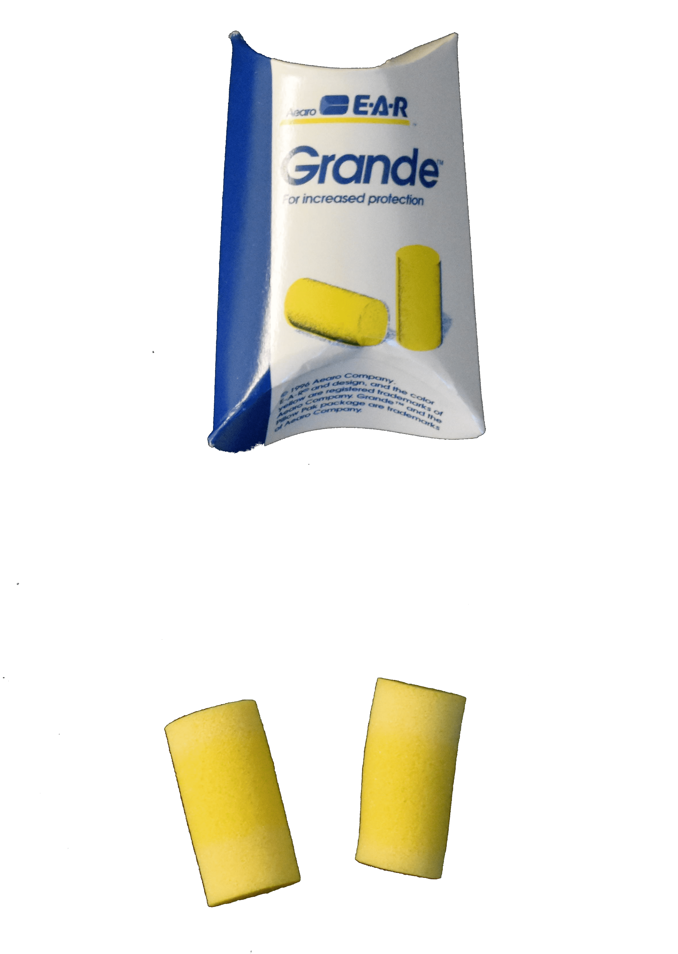 yellow plugs