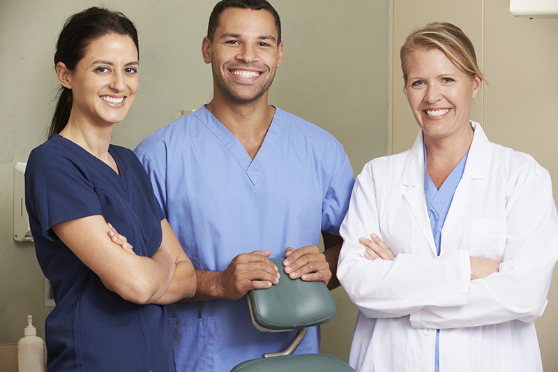friendly staff of privately-owned dental practices