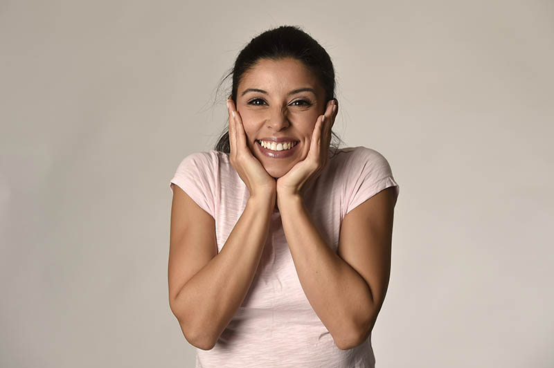 Woman With Healthy Gums at Strong Smiles Dental Care