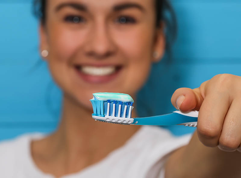 Toothpaste prevents tooth decay