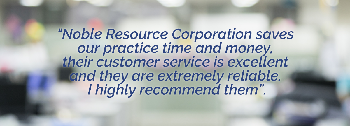 Noble Resource Corp - customer testimonial