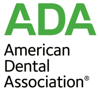 "graphic that says ""ADA American Dental Association"""
