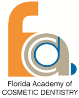 "graphic that says ""Florida Academy of Cosmetic Dentistry"""