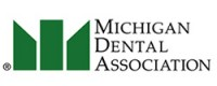 "graphic that says ""Michigan Dental Association"""