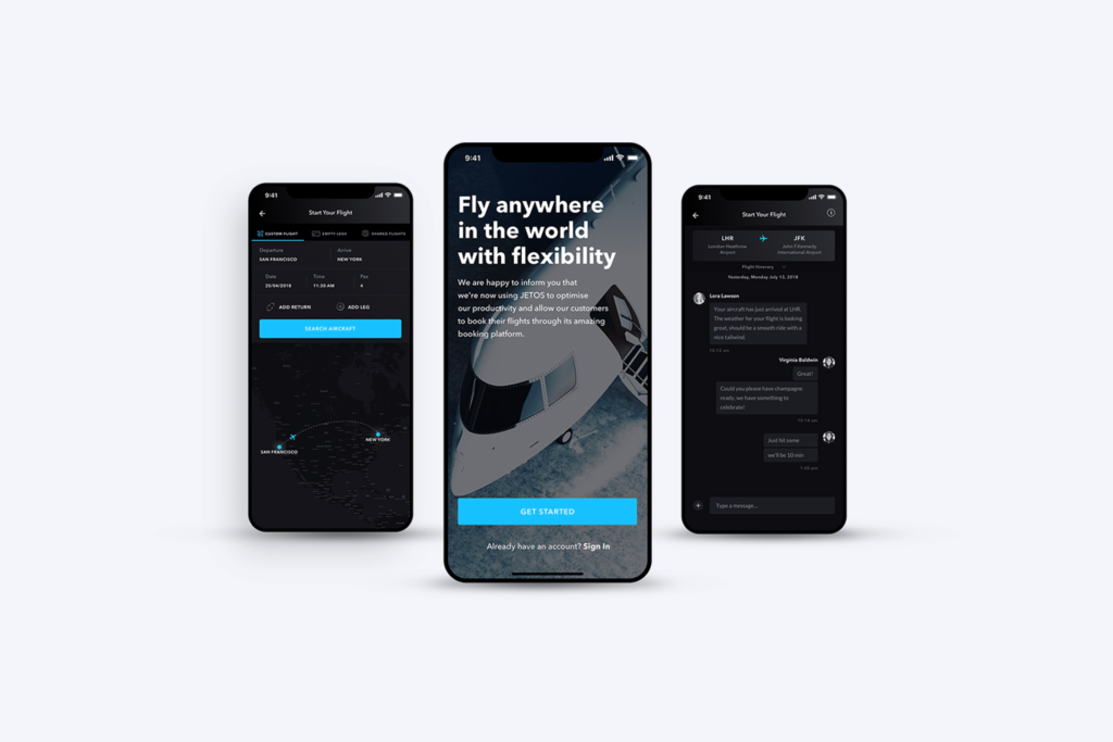 Avian Jets Booking App