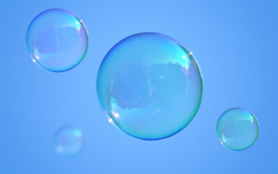 Blue Skies, Bubbles and Finding Joy in Challenging Times