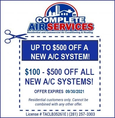 New AC System Coupon