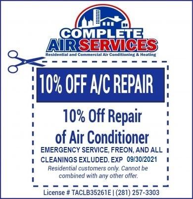 AC Repair Coupon