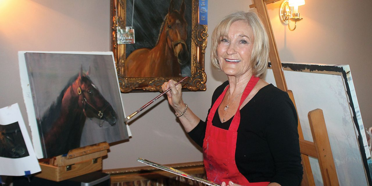 Winchester serves as muse for cityscape artist Brenda Salyers