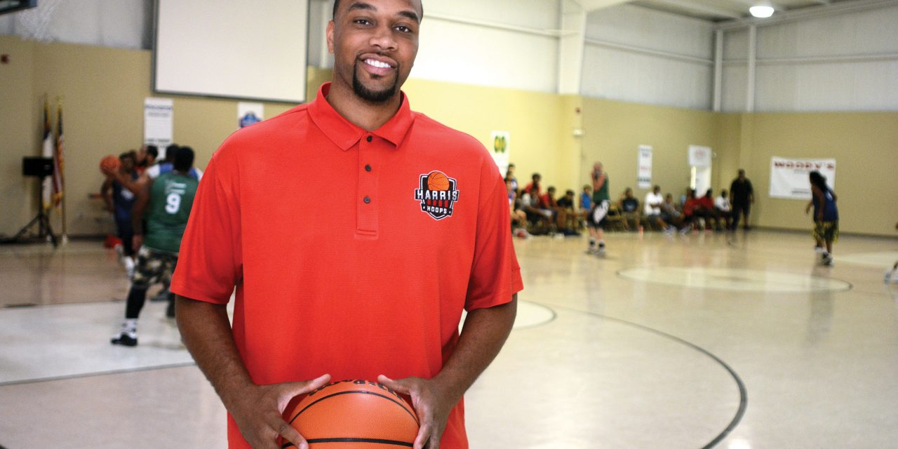 Hooping for hope: Clark native uses basketball to inspire community