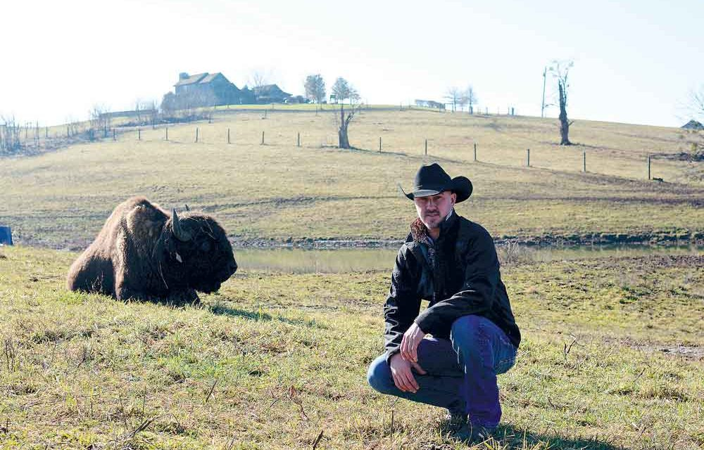 HOME ON THE RANGE: Clark native follows childhood dream to bison ranching