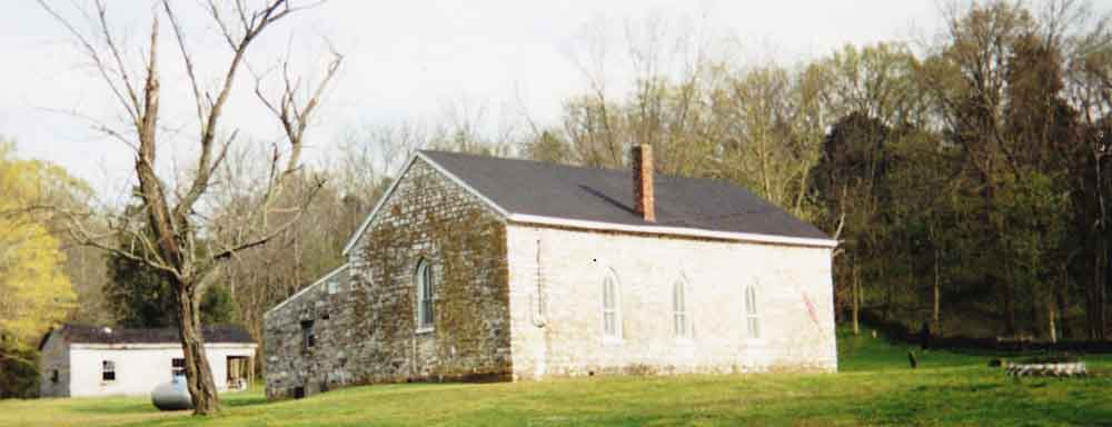 OLD STONE CHURCH: After two centuries, congregation still worshipping at county's oldest church