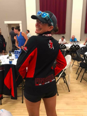 Official Ultra520KCanada Finisher Jacket.  Total Race Time: 33:58:37