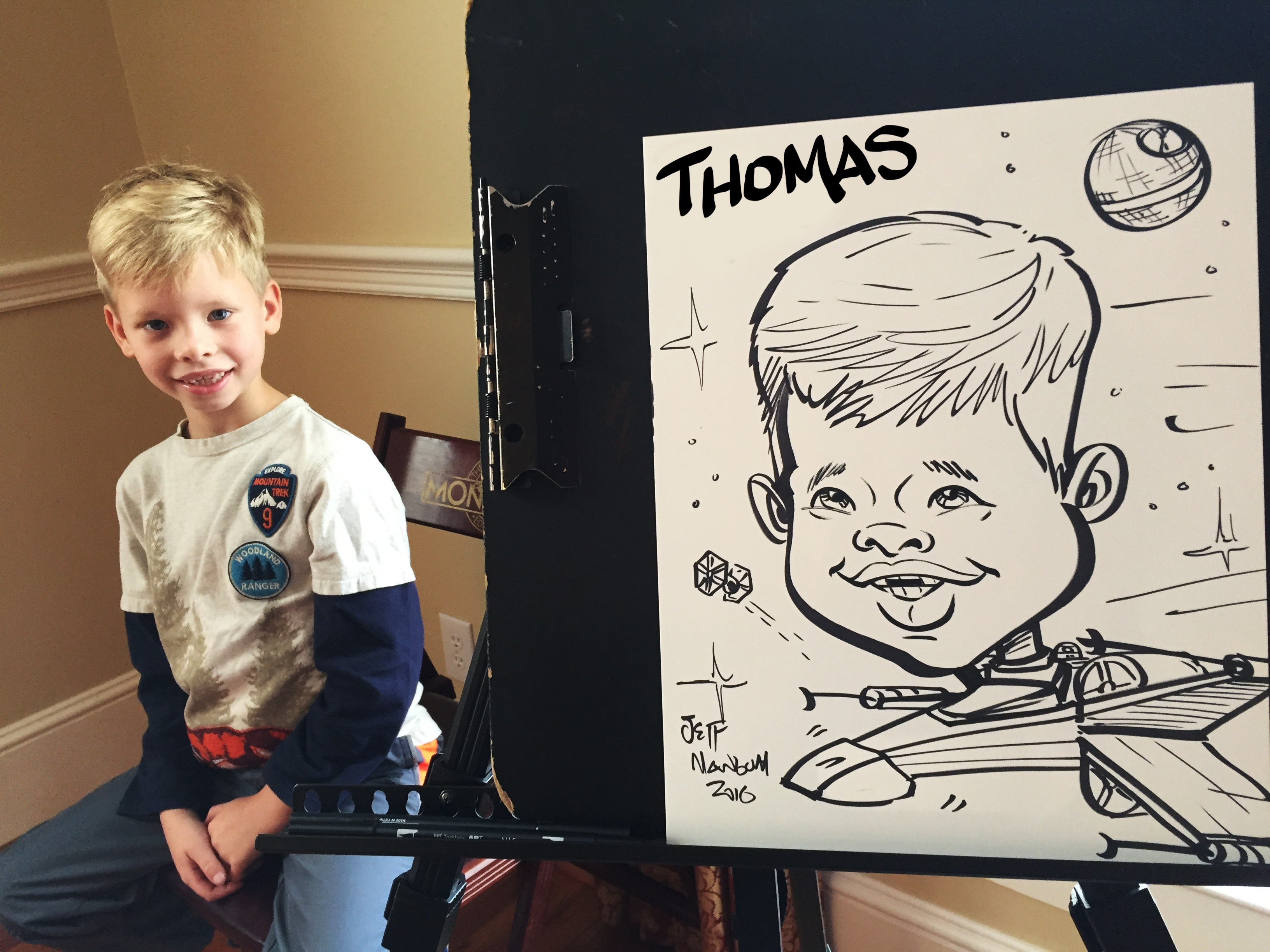 Fun Party ideas Caricatures