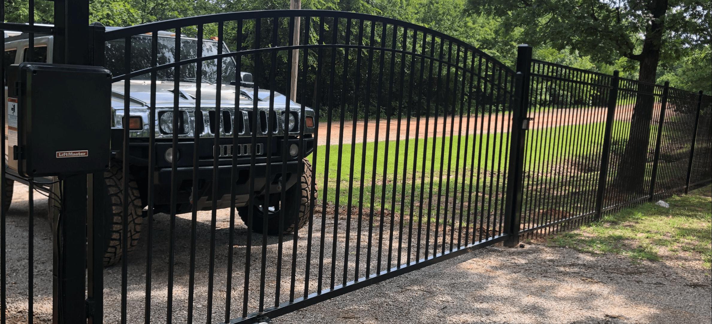 professional driveway gates installation